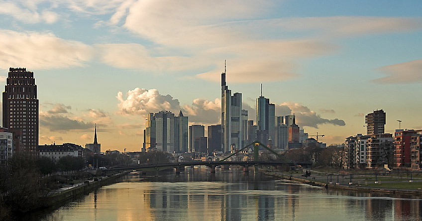 Frankfurt am Main, Germany. (Photo: Wikimedia Commons, author Ras67)