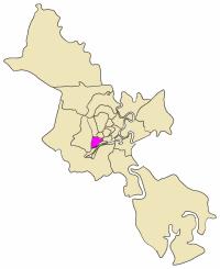 Map Of Hcmc : District, Wikipedia