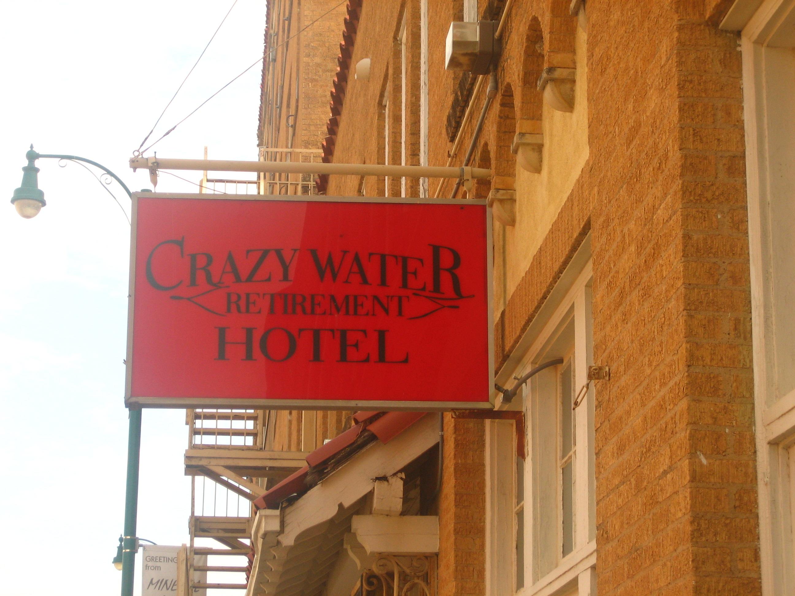 Filecrazy Water Retirement Hotel In Mineral Wells, Tx