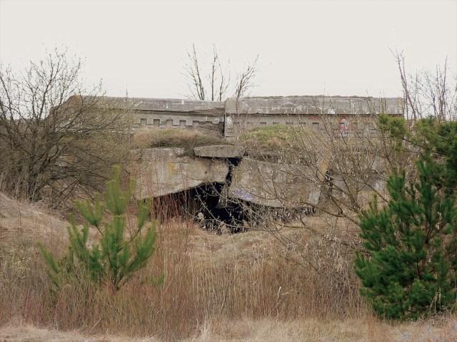 Крепость Осовец. Руины 2-го форта.