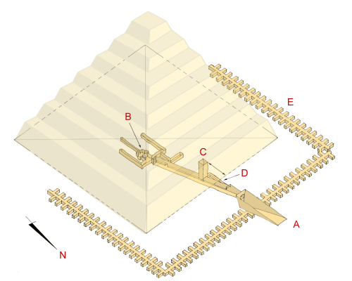 small resolution of schematical depiction of sekhemkhet s step pyramid