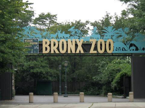 Asia Gate Entrance at Bronx Zoo.