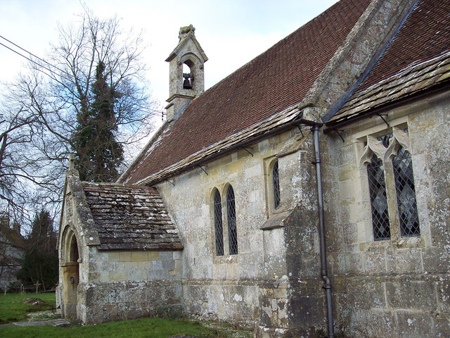 The Church of St Cosmos and St Damian Sherrington Wiltshire