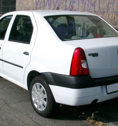dacia logan pre facelift rear view [ 1728 x 1149 Pixel ]