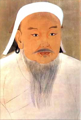 Genghis Khan from Wikipedia
