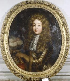 Louis Auguste de Bourbon, Duke of Maine by a member of Pierre Mignard.jpg