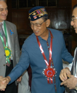 Fidel Ramos, president from 1992-1998