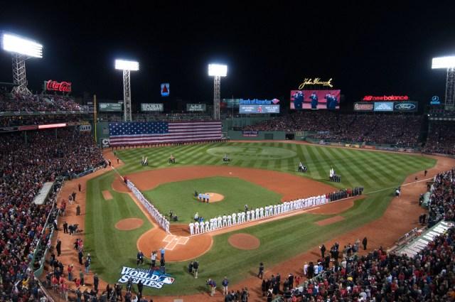 Resultado de imagen de estadio de boston red sox