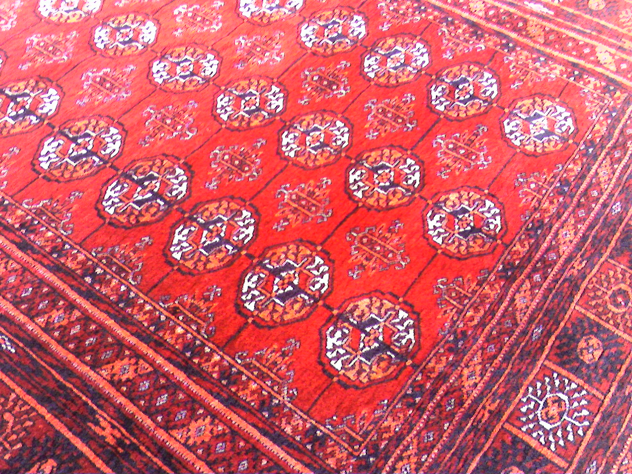 Imagining Islamic Aesthetics 4 Oriental Carpets Stars
