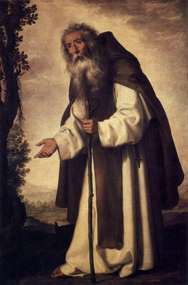 Francisco de Zurbarán, Sant'Antonio abate