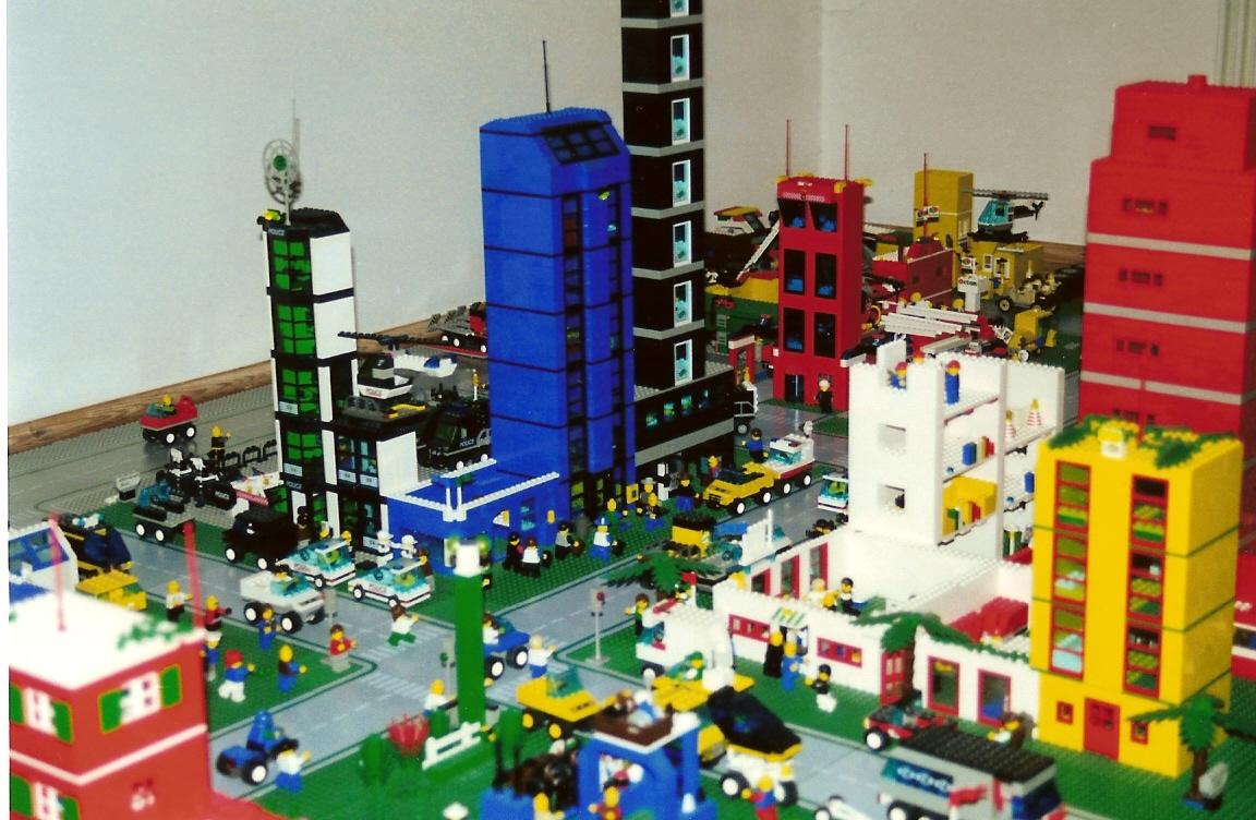 Maße von Legosteinen