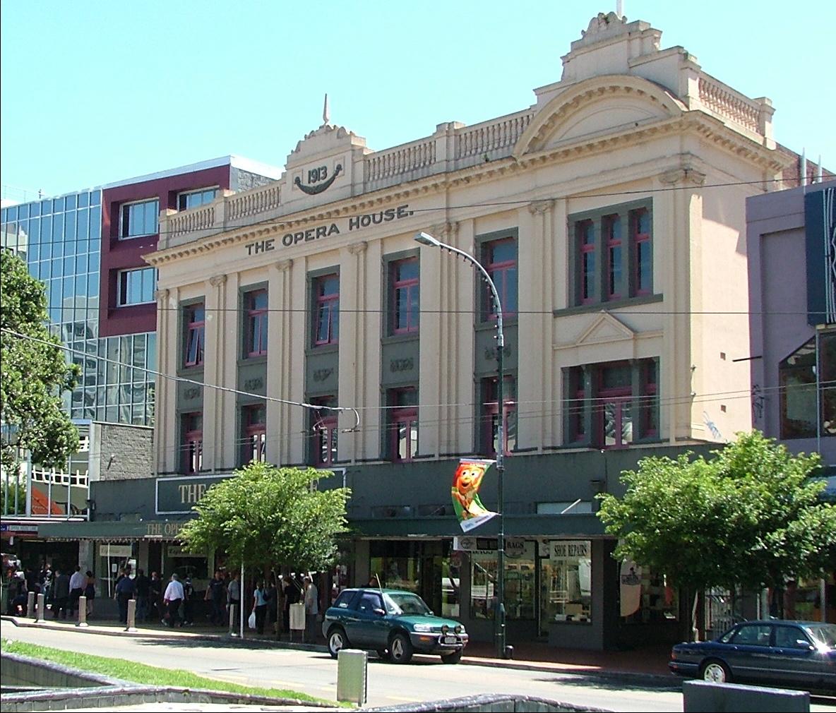 Opera House Wellington  Wikipedia