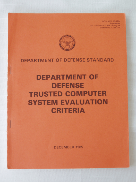 Trusted Computer System Evaluation Criteria  Wikipedia