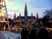 Vienna Austria Christmas Markets