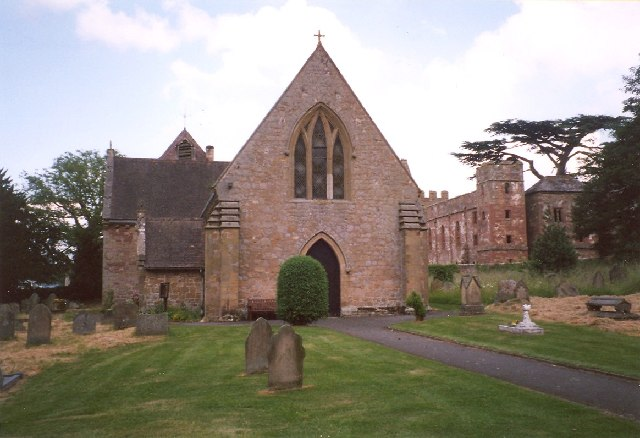 Photo of Acton Burnell Church and Castle