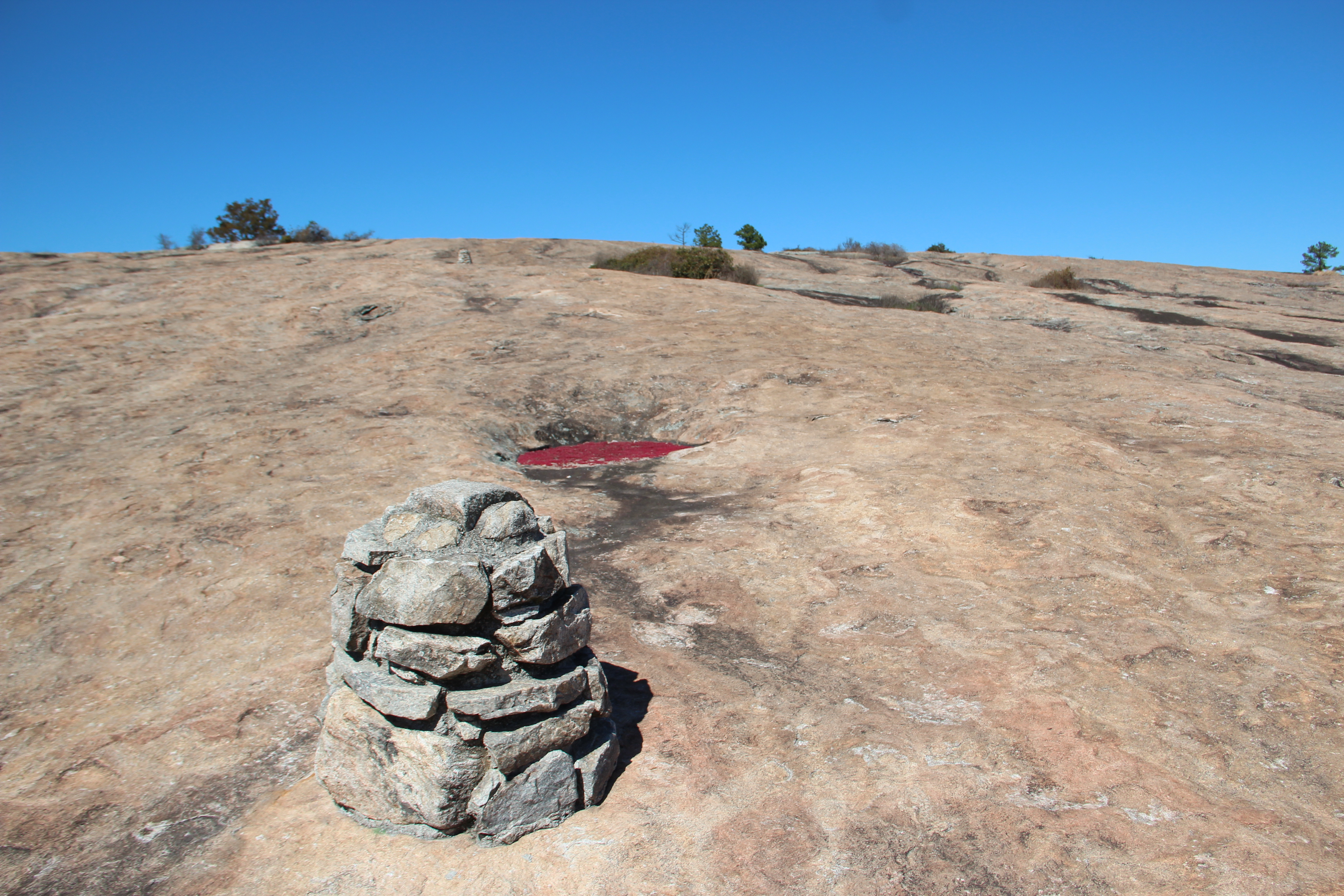 It is impossible to give an exact figure regarding the number of mountains in the world. File Arabia Mountain Cairn Jpg Wikipedia