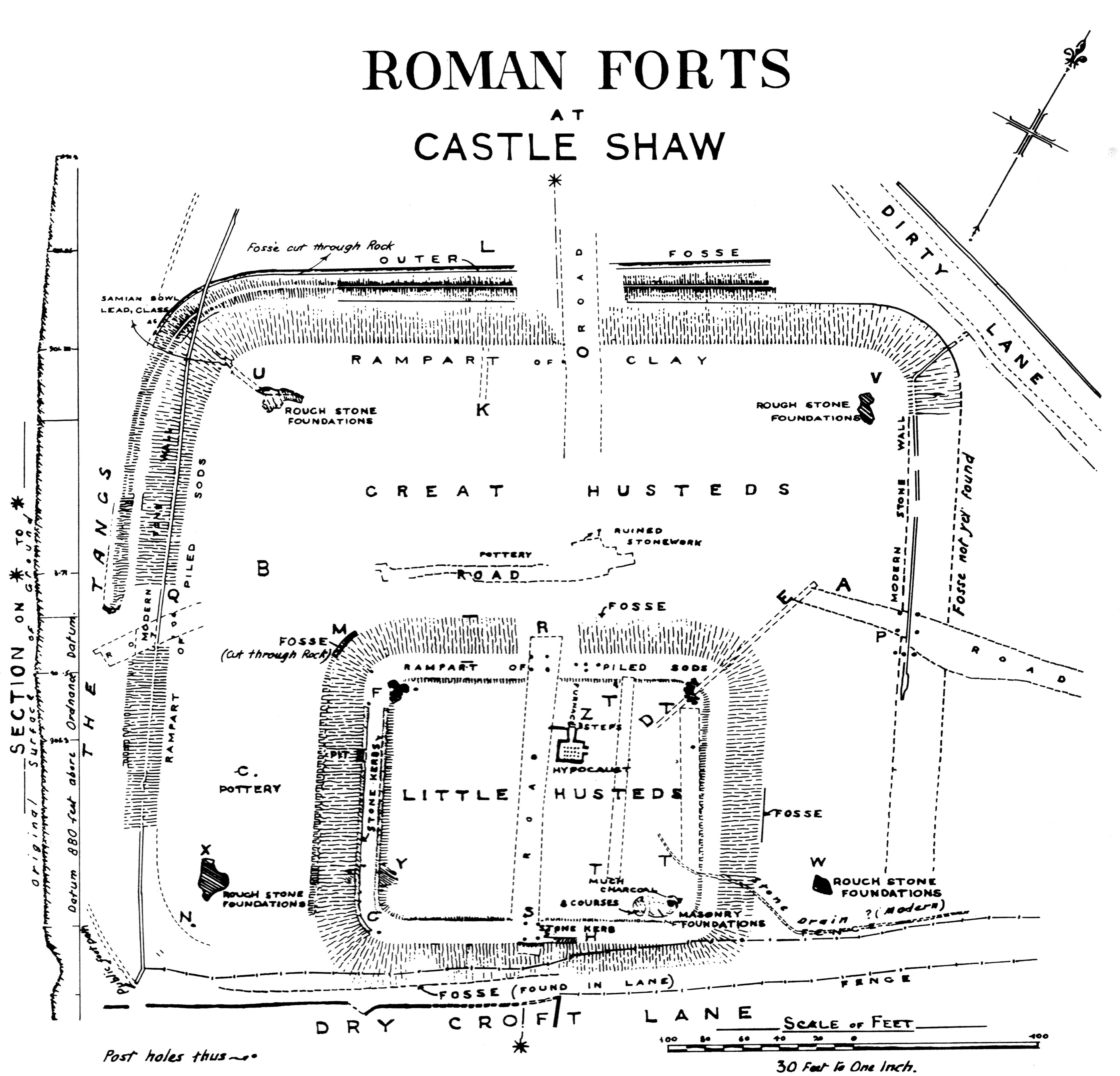 Datei:Castleshaw plan 1908.jpg