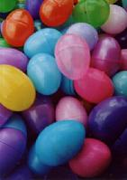 Easter Eggs Plastic Colors