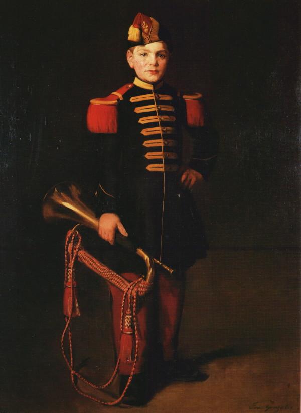 Enfant de troupe, Musée Gaston Rapin, Villeneu...
