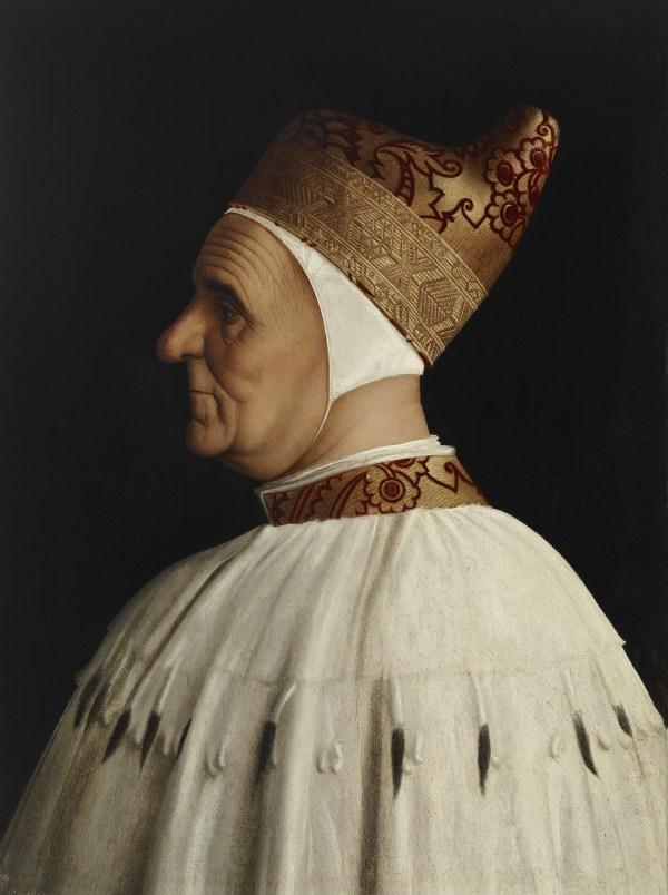 Gentile Bellini Doge Giovanni Mocenigo