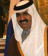 Cheikh Hamad, émir du Qatar, photographié en novembre 2010.