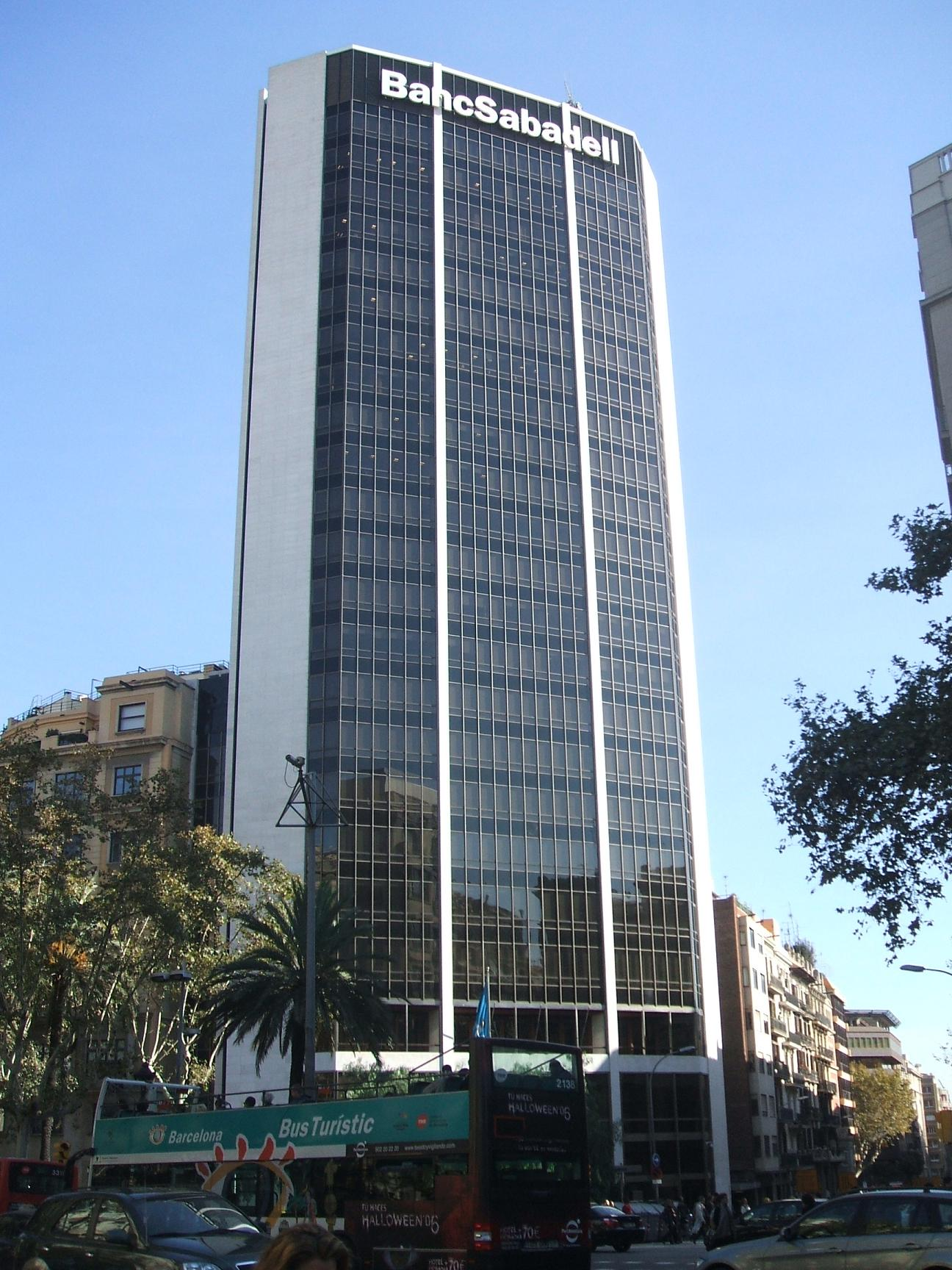 Torre Banc de Sabadell  Wikipedia