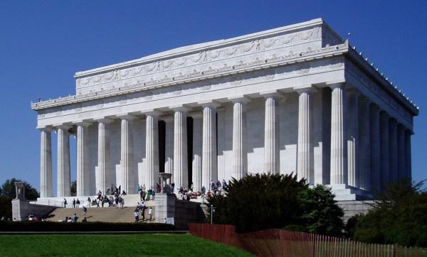Lincoln Memorial Washington Dc And