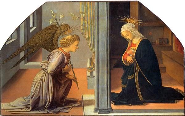 Fra Filippo Lippi Annunciation