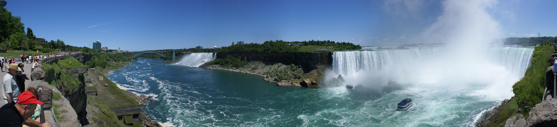 File Niagara Falls Panorama