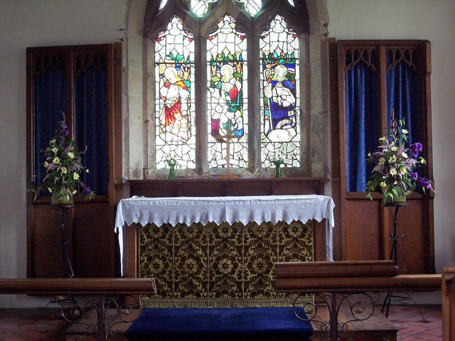 File:St John's Church, Allerston - Interior - geograph.org.uk