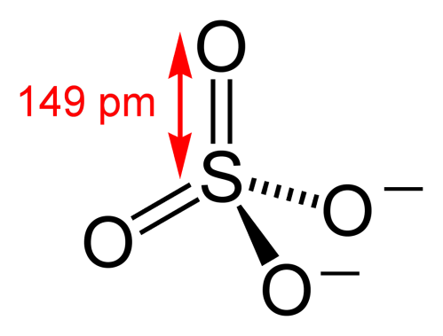 small resolution of sulfate