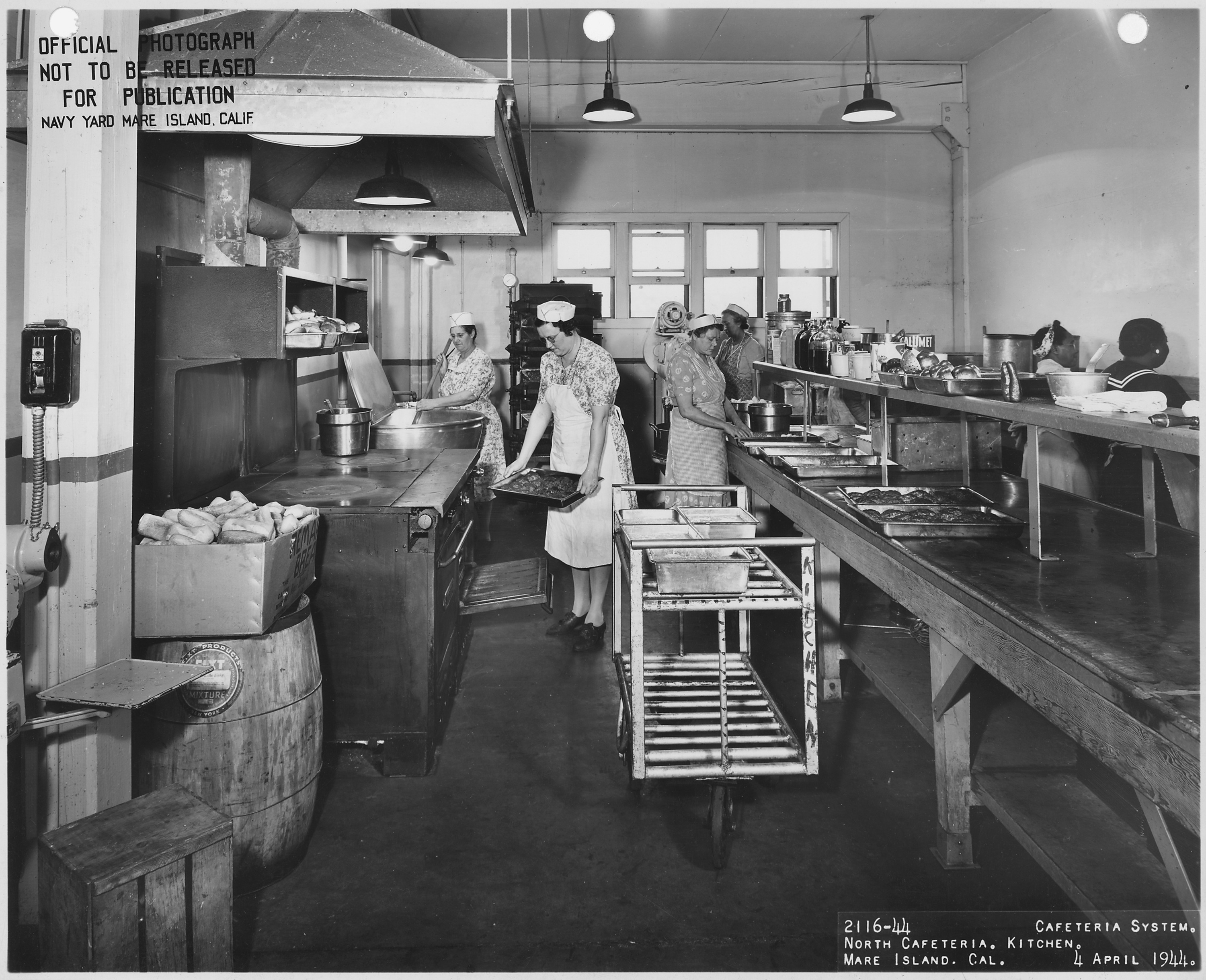 FileCafeteria System North Cafeteria Kitchen US Navy