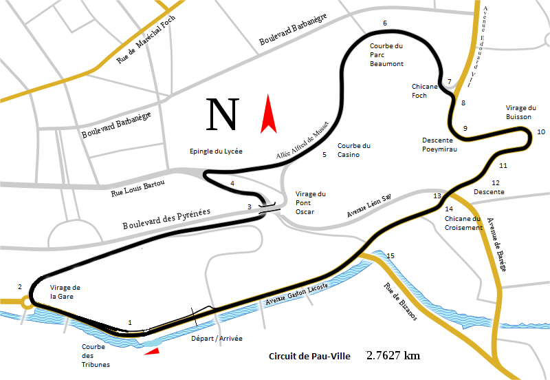 Summer Break Idea Try To Design A Street Circuit Around