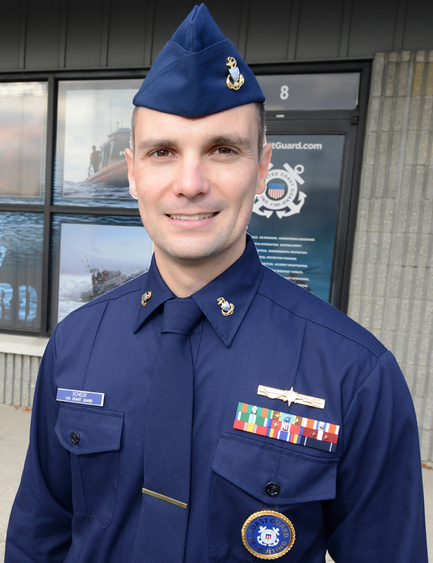uniform service recruiter badges