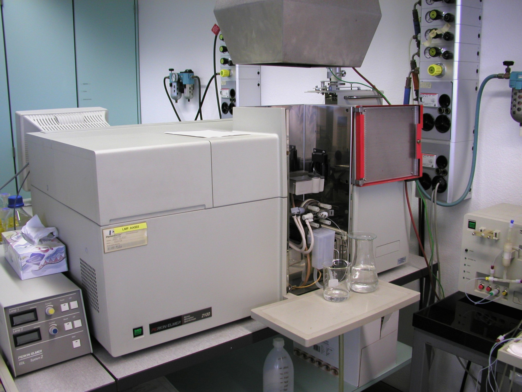 hight resolution of atomic absorption spectroscopy