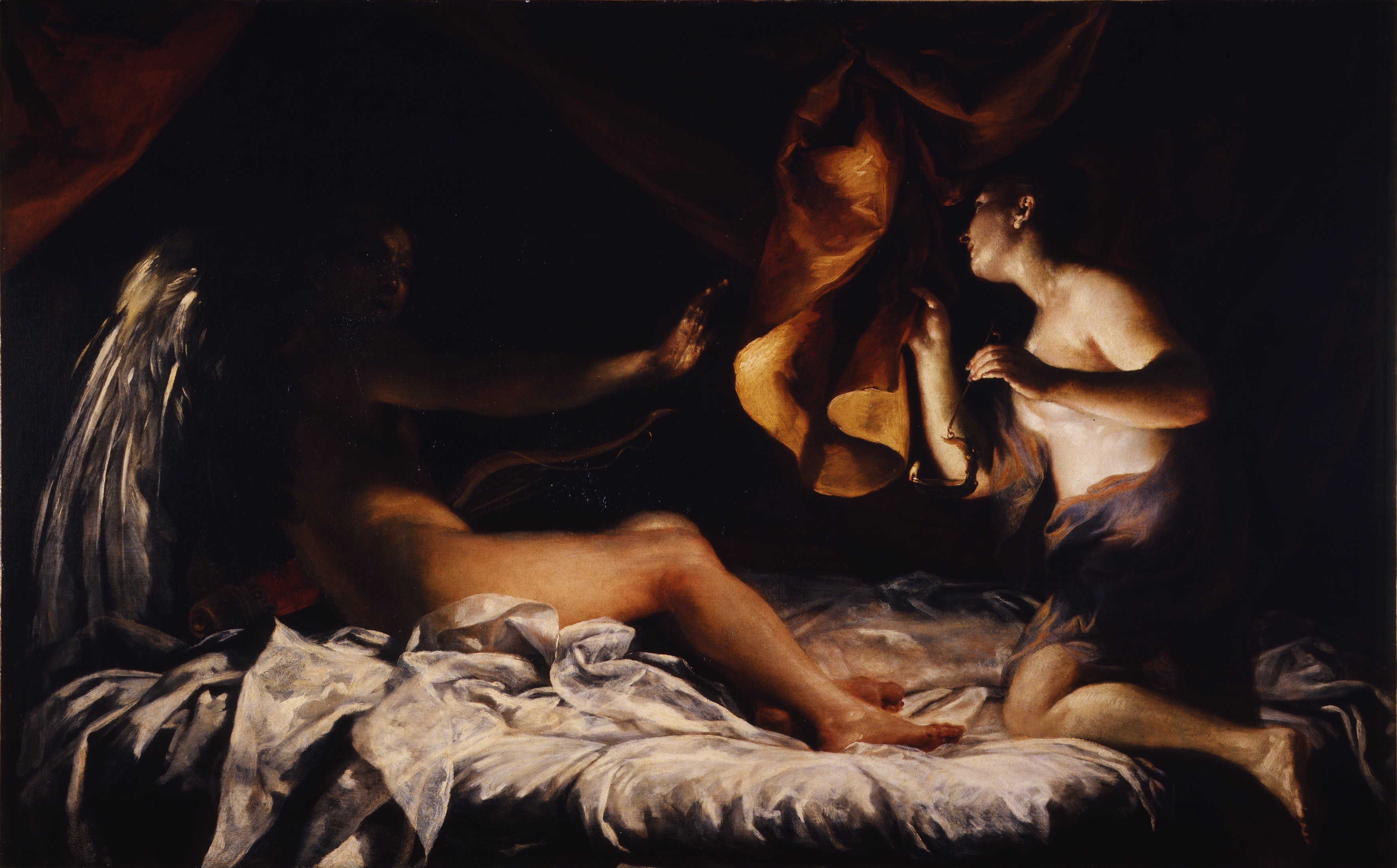 Cupid and Psyche (Giuseppe Maria Crespi)