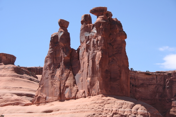 English: Three Gossip at Arches National Park