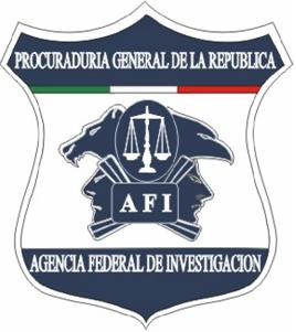 Shield of the Mexican Agencia Federal de Inves...