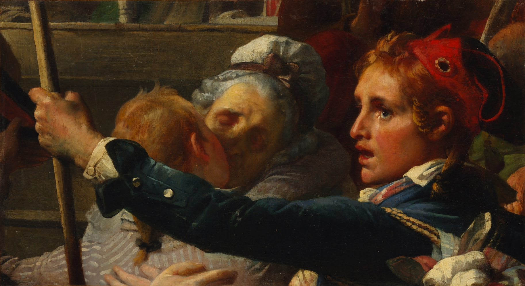 The Nation Is in Danger, Auguste-Hyacinthe Debay, 1832