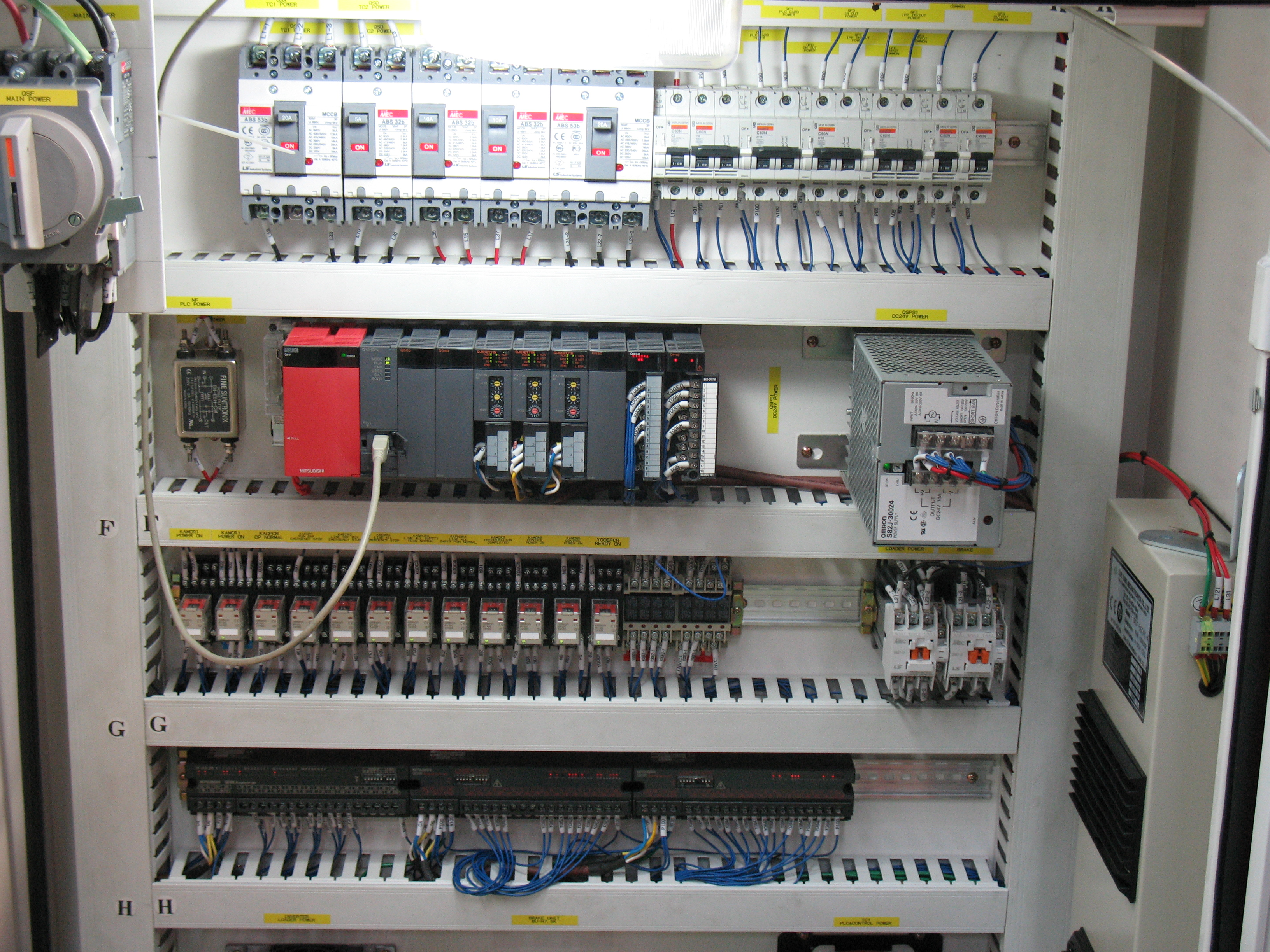 plc control panel wiring diagram bus engine compartment  blog archive