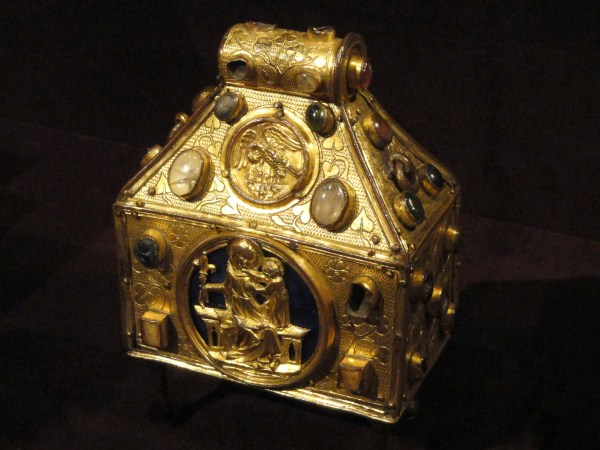 File Reliquary In Purse Form 1320 Ad German Upper