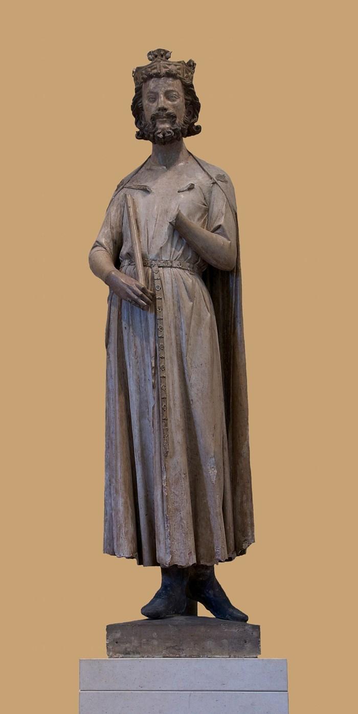 Childebert I Frankish King. Merovingian costume