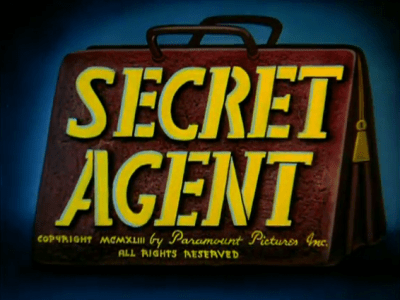 Secret Agent title