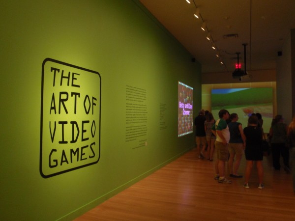 File Art Of Video Games Exhibit Entrance - National Portrait Wikimedia Commons