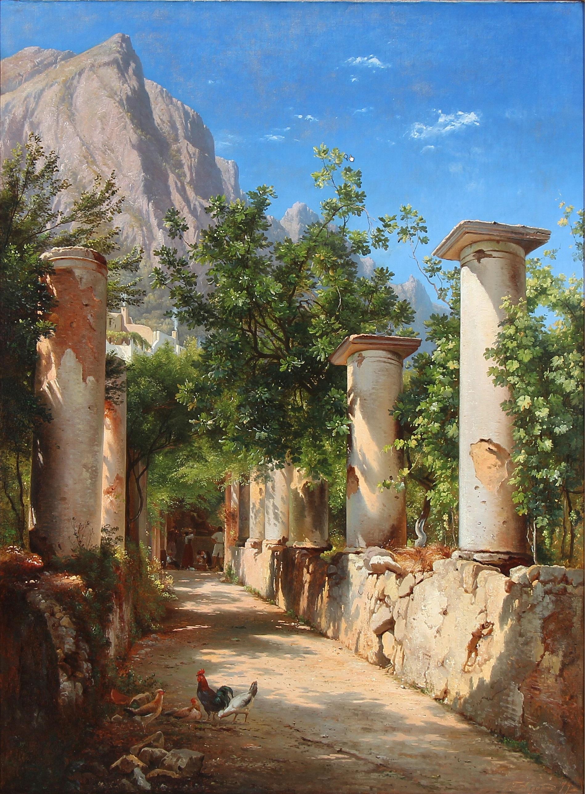 FileCarl Frederik Aagaard  En antik sjlegang Italien