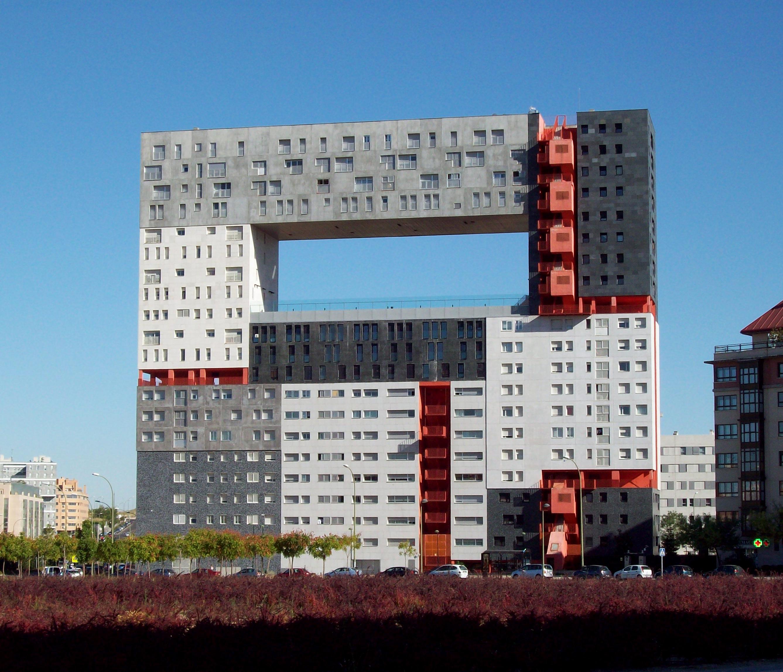 edificio de bamb