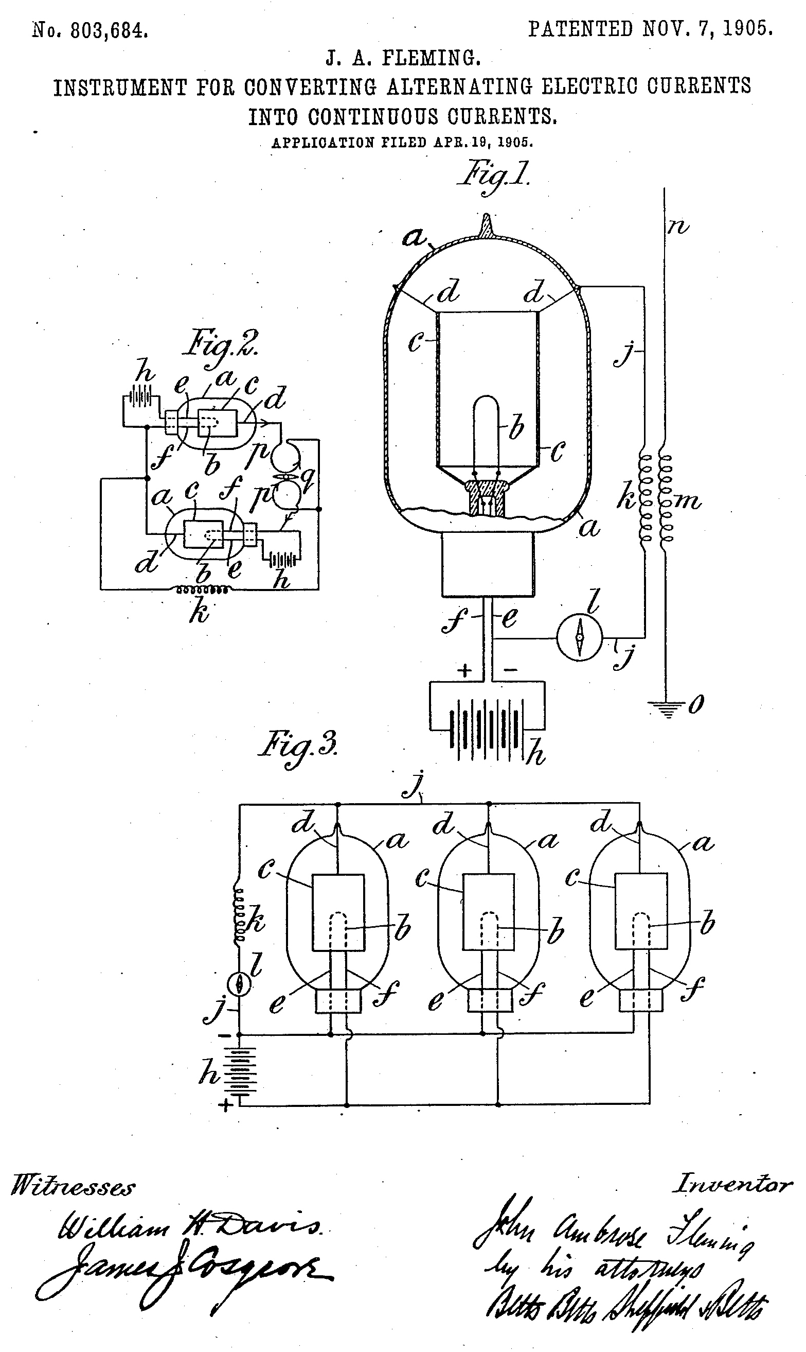 Datei:Fleming Valve - US Patent 803,684.jpg