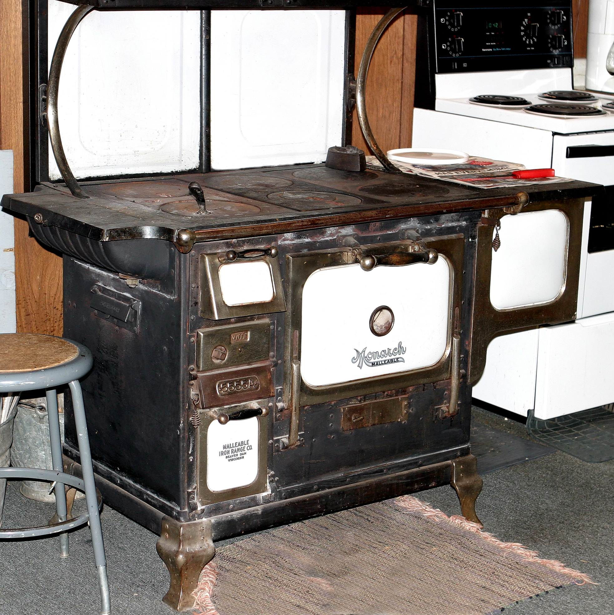 wood kitchen stoves for sale cabinet colors small kitchens stove antique burning