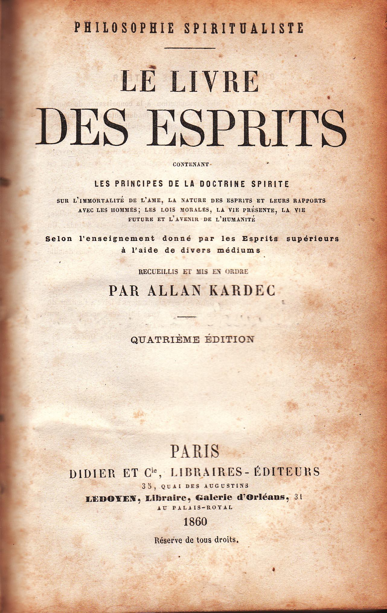 Le Livre Des Esprits Allan Kardec : livre, esprits, allan, kardec, File:Le, Livre, Esprits, 2.jpg, Wikimedia, Commons