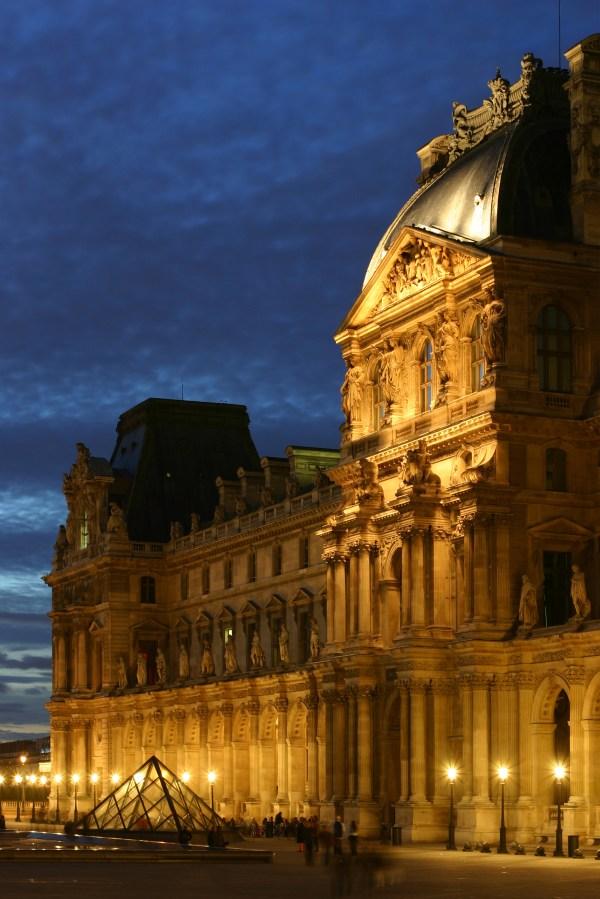 Paris Louvre Museum Paintings
